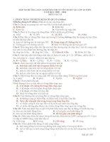Đáp án đề thi tuyển sinh THPT năm 2009 - 2010 môn vật lý -tỉnh quảng bình