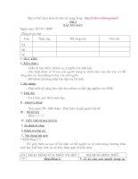 sinh học 8 ( tiết 1- 20).CAO BẰNG