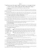 Tài liệu ôn thi ĐH & CĐ Môn Lịch sử