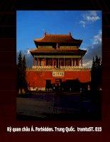 Kỳ quan châu Á. Trung Quốc.  015