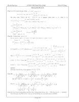 Hướng dẫn giải đề thi thử đại học môn toán đề số 51