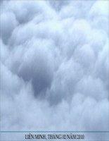 Bài 20 Hơi nước trong không khí, mưa