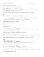 ôn tập kiểm tra 1 tiết chương I