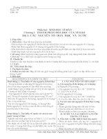 Bài 3. Các nguyên tố hóa học và nước