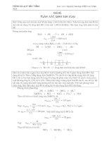 Bài tập xác định công thức hóa học- HSG
