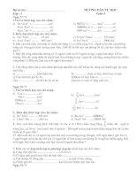 Phiếu ôn tập tuần 6 lớp 5 - Dung
