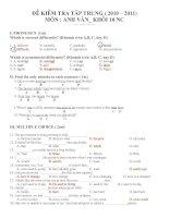 KTTT HK I (Unit 1,2,3,4) + KEY (SO HOT)