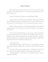 KHÓA LUẬN TỐT NGHIỆP: NGHIÊN CỨU CÁC ĐIỀU KIỆN LÊN MEN MỘT SỐ LOẠI  CÀ PHÊ (Coffea L.) PHỔ BIẾN Ở VIỆT NAM  BẰNG  CHẾ PHẨM BIOCOFFEE-1 NHẰM THU ĐƯỢC  CHẤT HÒA TAN CAO (Phần 1)