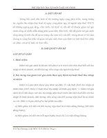 Bài tập lớn học kỳ môn Luật tài chính