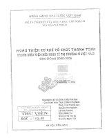 194 Hoàn thiện cơ chế tổ chức thanh toán trong điều kiện nền kinh tế thị trường ở Việt Nam giai đoạn 2000 - 2005