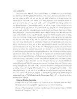 41 Lợi nhuận và một số phương hướng biện pháp nhằm tănglợi nhuận tại Công ty TNHH sản Xuất và Thương mại TrầnVũ (55 tr)