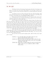 373 Kế toán tiền lương và các khoản trích theo tiền lương tại xí nghiệp Hoá Dược - Bộ Y tế
