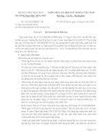 Thông tin dành cho phụ huynh -lễ bảo vệ đồ án