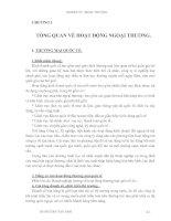 Giáo trình Kỹ thuật nghiệp vụ ngoại thương - Chương 1