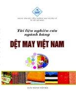 Tài liệu nghiên cứu ngành hàng Dệt may Việt Nam