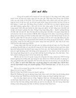 """214 Bàn về cách tính khấu hao và phương pháp kế toán khấu hao tài sản cố định theo chế độ hiện hành trong các doanh nghiệp ở Việt Nam hiện nay"""" để làm đề án môn học"""