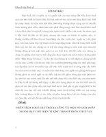 PHÂN TÍCH THUẾ GIÁ TRỊ GIA TĂNG VÀ MỘT SỐ GIẢI PHÁP  NHẰM HẠN CHẾ HIỆN TƯỢNG TRÁNH TRỐN THUẾ VAT