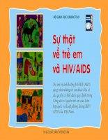 Sự thật về trẻ em và HIV