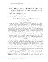 GIỚI THIỆU VỀ TỔNG CÔNG TY BH DẦU KHÍ VIỆT NAM VÀ CÔNG TY BẢO HIỂM DẦU KHÍ HÀ NỘI