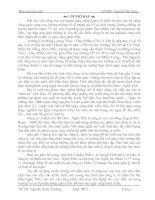 báo cáo thực tập Công ty cổ phần bia Sài Gòn-Nghệ Tĩnh