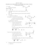 Vật lý 10: Cân bằng của vật rắn không có chuyển động quay quanh 1 trục và có trục quay cố định