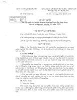 Quyết định Số 775/QĐ-TTg