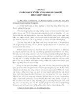 332 Thực trạng về Kế toán tiêu thụ tại Công ty kinh doanh và chế biến than Hà Nội