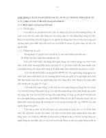 GIẢI PHÁP ĐIỀU HÀNH CHÍNH SÁCH LÃI SUẤT VỚI MỤC TIÊU TĂNG TRƯỞNG KINH TẾ CỦA VIỆT NAM