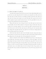 46 Hạch toán hàng hoá và tiêu thụ hàng hoá ở Công ty chế biến và kinh doanh than Hà Nội (77 tr)