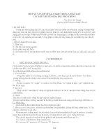MỘT SỐ VẤN ĐỀ VỀ SACCARIT TRONG GIẢNG DẠY CÁC LỚP CHUYÊN HÓA HỌC PHỔ THÔNG