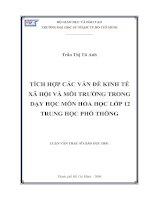 luận văn thạc sỹ giáo dục học Trần Thị Tú Anh