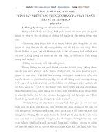 TRÌNH BÀY NHỮNG ĐẶC TRƯNG CƠ BẢN CỦA PHÁT THANH
