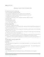 Hóa học đại cương- Kim loại