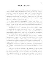 KHÓA LUẬN TỐT NGHIỆP: NGHIÊN CỨU CÁC ĐIỀU KIỆN LÊN MEN MỘT SỐ LOẠI  CÀ PHÊ (Coffea L.) PHỔ BIẾN Ở VIỆT NAM  BẰNG  CHẾ PHẨM BIOCOFFEE-1 NHẰM THU ĐƯỢC  CHẤT HÒA TAN CAO (Phần 2)