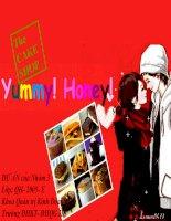 dự án Yummy!Honey!