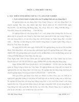 23 Báo cáo tổng hợp về tổ chức, dây chuyến sản xuất và kế toán lao động tiền lương và các khoản trích theo lương của xí nghiệp khảo sát xây dựng điện i