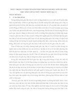 THỰC TRẠNG VÀ MỘT SỐ GIẢI PHÁP NHẰM GIÁO DỤC DÂN SỐ CHO HỌC SINH LỚP 10 THPT TRONG MÔN ĐỊA LÍ