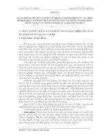 """Luận văn tốt nghiệp: """"TÀI SẢN CỐ ĐỊNH, VỐN CỐ ĐỊNH VÀ CÁC BIỆN PHÁP NÂNG CAO HIỆU QUẢ SỬ DỤNG VỐN CỐ ĐỊNH TRONG HOẠT ĐỘNG SẢN XUẤT KINH DOANH CỦA DOANH NGHIỆP"""""""