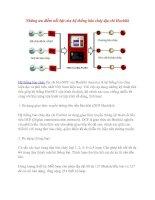 Những ưu điểm nổi bật của hệ thống báo cháy địa chỉ Hochiki