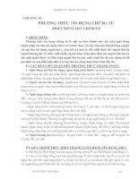 Giáo trình Kỹ thuật nghiệp vụ ngoại thương - Chương 9
