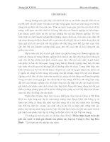 218 Hoàn thiện hạch toán chi phí sản Xuất và tính giá thành sản phẩm xây lắp tại Công ty Xây lắp Hoà Bình (64tr)