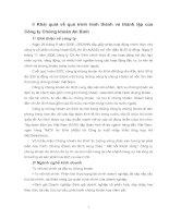 Khái quát về quá trình hình thành và thành lập của Công ty Chứng khoán An Bình