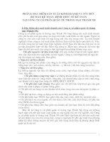 117 Tổ chức bộ máy Kế toán tại Công ty cổ phần QT thương mại Thành Như