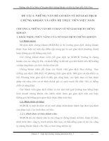 NHỮNG VẤN ĐỀ CƠ BẢN VỀ SỞ GIAO DỊCH CHỨNG KHOÁN VÀ LIÊN HỆ THỰC TIỄN VIỆT NAM