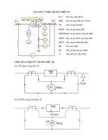 Nguyên lý bảo vệ máy biến áp