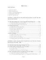 46 Các giải pháp hạn chế rủi ro tín dụng tại Vietcombank Tân Thuận