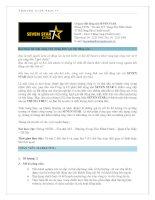thông báo tuyển dụng SEVEN STAR