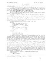 CHỨC NĂNG, NHIỆM VỤ, CƠ CẤU TỔ CHỨC VÀ QUẢN LÝ HOẠT ĐỘNG SẢN XUẤT KINH DOANH