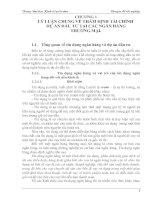 430 Thực trạng và giải pháp Công tác huy động vốn tại Sở giao dịch I Ngân hàng Công thương Việt Nam