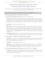 Báo cáo kết quả hoạt động_ Hiệp hội chế biến và xuất khẩu thủy sản VIệt Nam